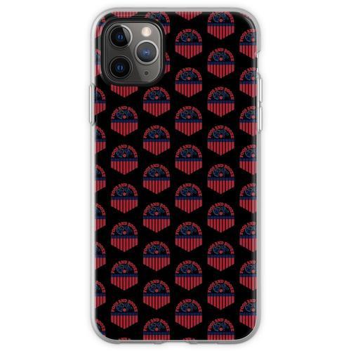 USA Foos und Schnaps lustiger Trinkwitz Flexible Hülle für iPhone 11 Pro Max
