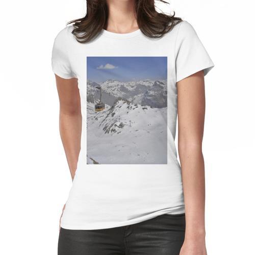 St. Moritz Diavolezza Straßenbahn Frauen T-Shirt