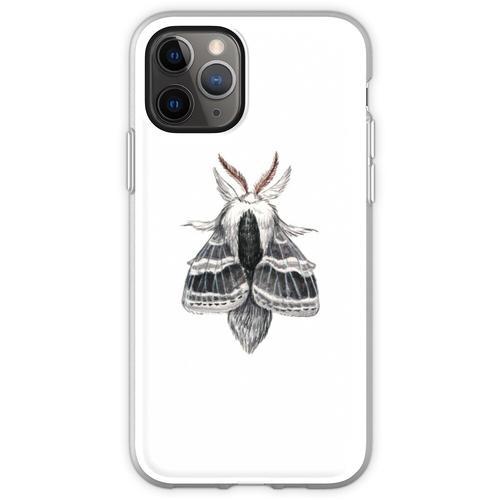 Große Tolype Motte (Tolype velleda) Flexible Hülle für iPhone 11 Pro