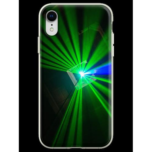 Lasershow Flexible Hülle für iPhone XR