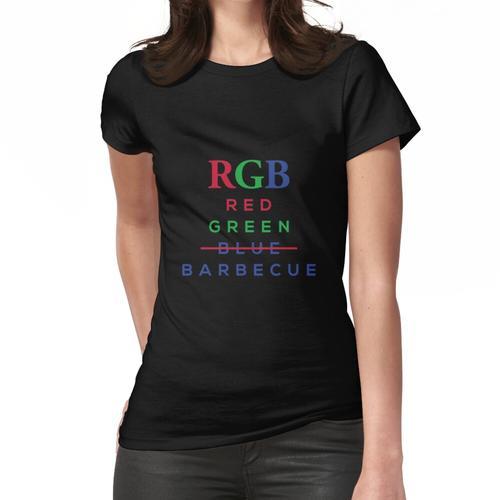 BBQ RGB Fleisch Grill Frauen T-Shirt