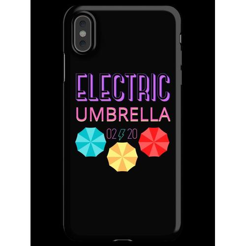 Elektrischer Regenschirm iPhone XS Max Handyhülle