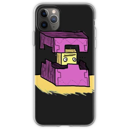 Minecraft Shulker Flexible Hülle für iPhone 11 Pro Max