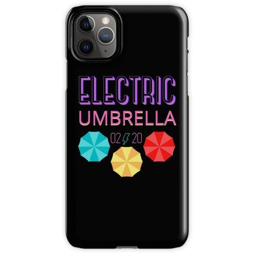 Elektrischer Regenschirm iPhone 11 Pro Max Handyhülle