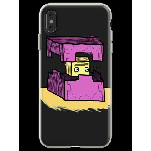 Minecraft Shulker Flexible Hülle für iPhone XS Max