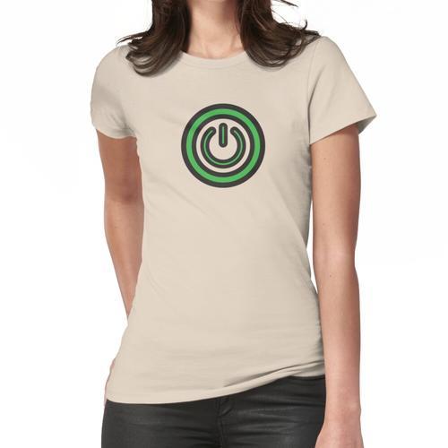 Einschalttaste Frauen T-Shirt