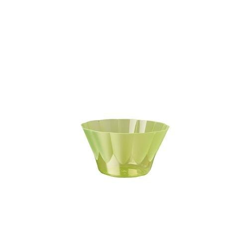 Papstar 264 Eis- und Dessertschalen, PS rund 300 ml Ø 11 cm · 6,5 cm grün