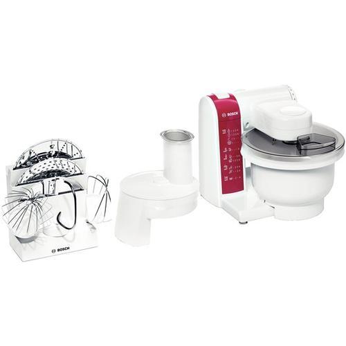 Bosch MUM4825 Küchenmaschine 600 W Rot, Weiß