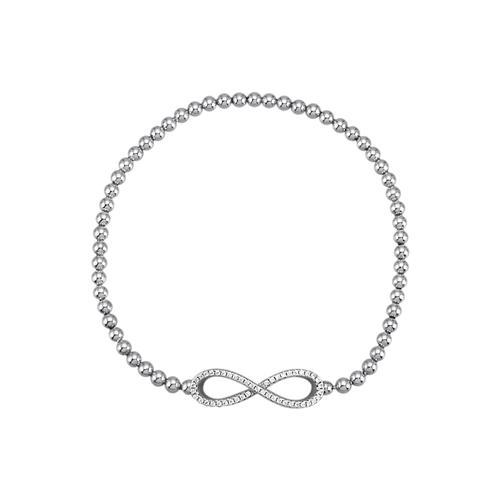Infinity- Armband KLiNGEL Silberfarben