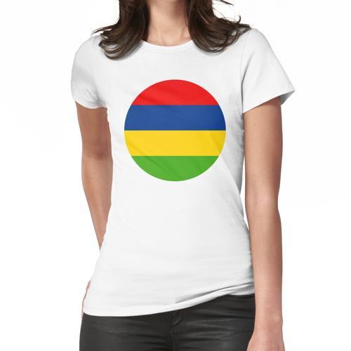 Mauritius, Republik Mauritius Frauen T-Shirt