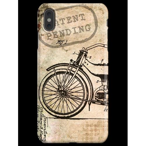 Motorrad Fahrrad Harley iPhone XS Max Handyhülle