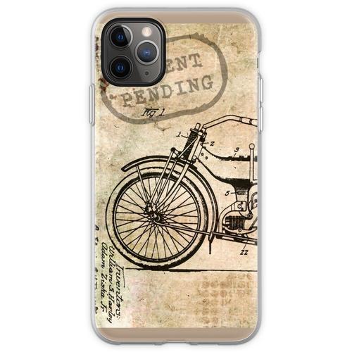 Motorrad Fahrrad Harley Flexible Hülle für iPhone 11 Pro Max