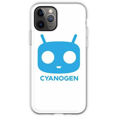 CyanogenMod Head Flexible Hülle für iPhone 11 Pro