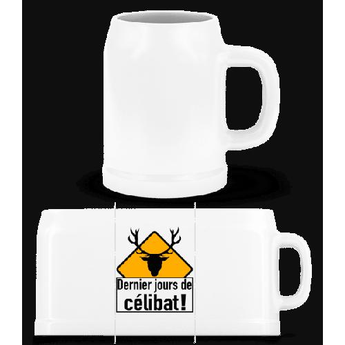 Célibat - Bierkrug