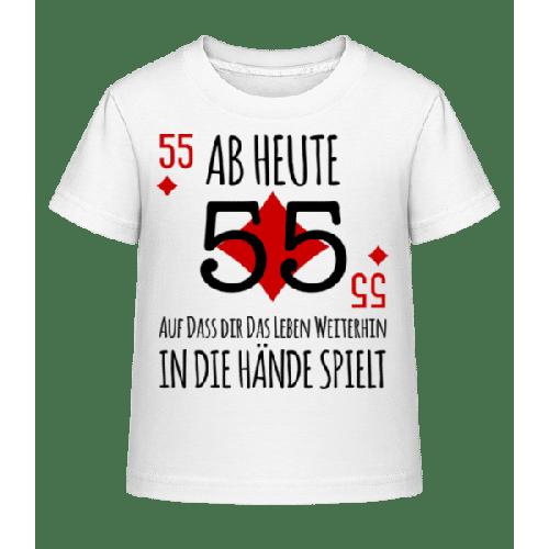 Schnapszahl 55 - Kinder Shirtinator T-Shirt