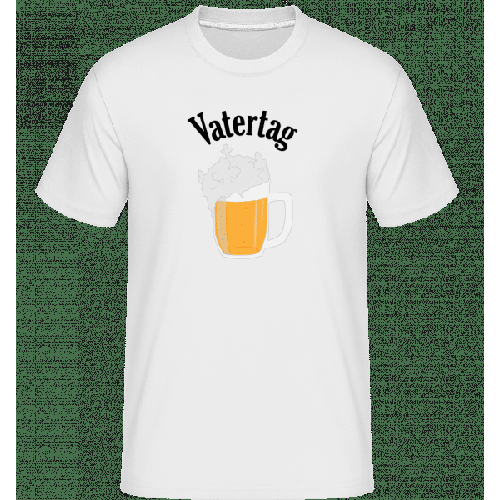 Vatertag Bier Schaumkrone - Shirtinator Männer T-Shirt