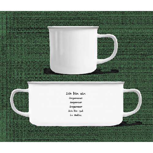 Ich Bin Ein Ingenieur - Emaille-Tasse