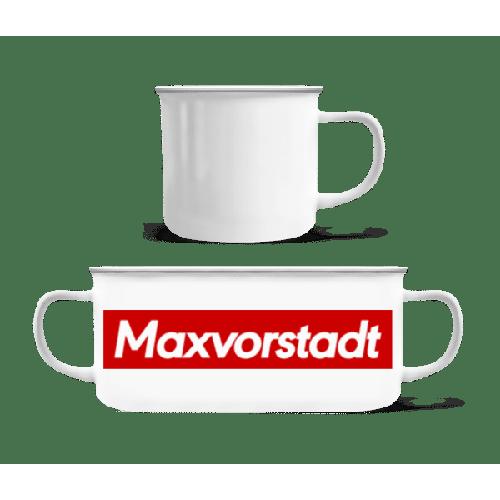Maxvorstadt - Emaille-Tasse