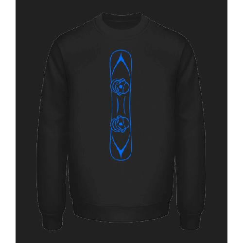 Snowboard Blue - Unisex Pullover