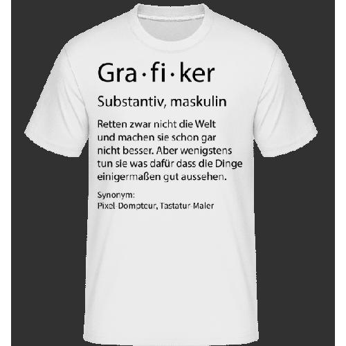 Grafiker Quatsch Duden - Shirtinator Männer T-Shirt