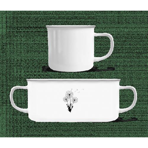 Dandelion Comic - Emaille-Tasse