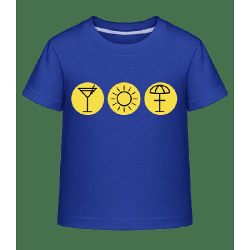 Sommerzeit - Kinder Shirtinator T-Shirt