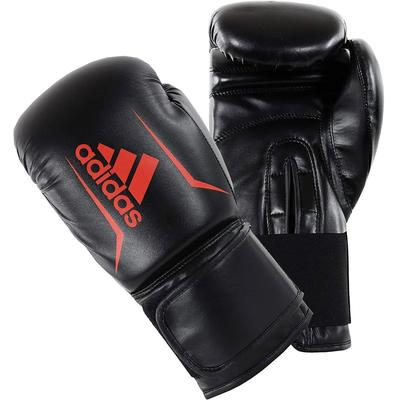 adidas Speed 50 Boxing Gloves Black/Red