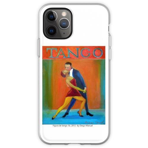 Figur des Tango 1b, 2012 von Diego Manuel Flexible Hülle für iPhone 11 Pro