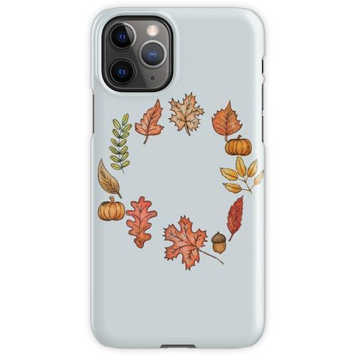 Herbstkranz iPhone 11 Pro Handyhülle