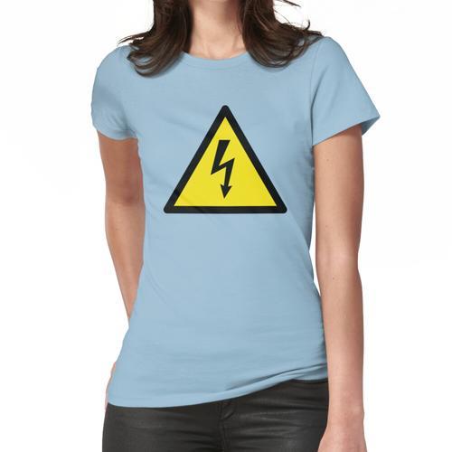 Stromschlag Gefahr Frauen T-Shirt