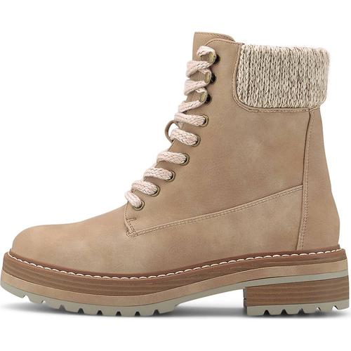 COX, Winter-Boots in beige, Boots für Damen Gr. 41