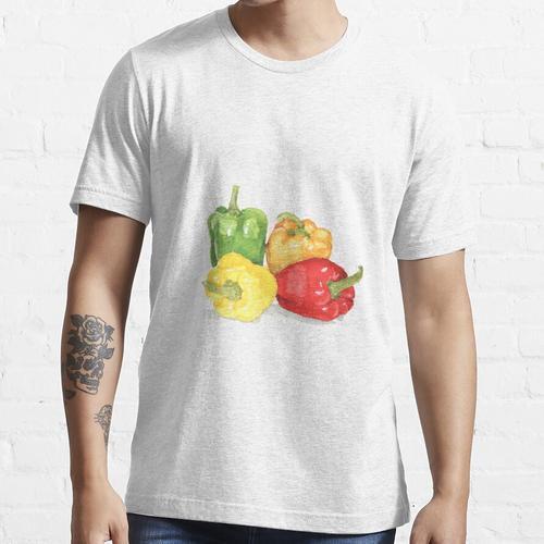 Paprikaschoten Essential T-Shirt