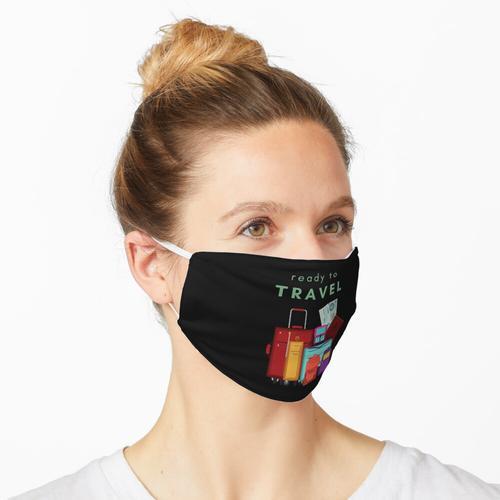 Reise fertig Maske