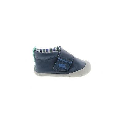 Carter's Sneakers: Blue Solid Shoes - Size 2