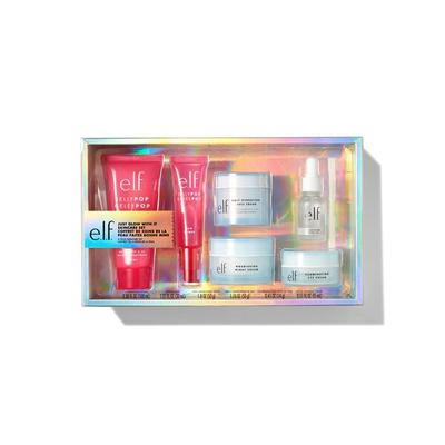 e.l.f. Cosmetics Just Glow With it Skincare Set - Vegan and Cruelty-Free Makeup - Holiday Gift Sets