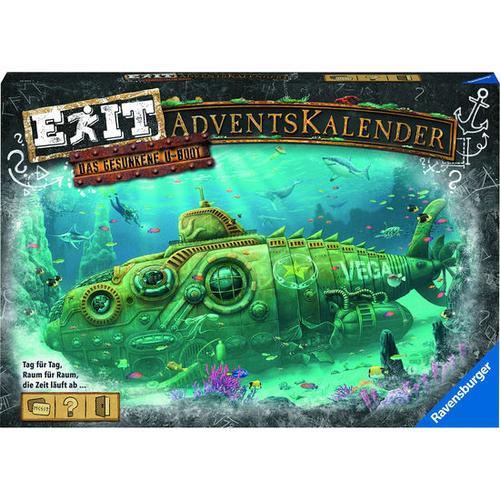 Adventskalender Exit - Das gesunkene U-Boot, bunt