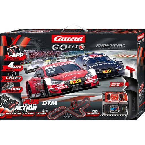 Rennbahn Carrera® GO PLUS!!! DTM Speed Record, bunt