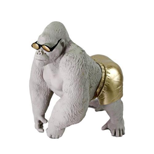 VOSS Design »Baywatch Gorilla« gold/weiß