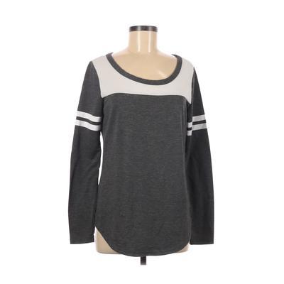 rue21 Long Sleeve T-Shirt: Gray ...