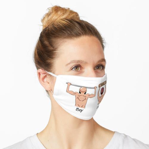 Klettertraining Maske