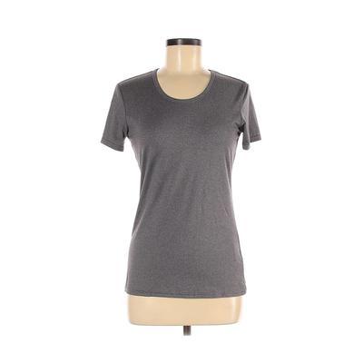 ZeroXposur Active T-Shirt: Gray Activewear - Size Medium