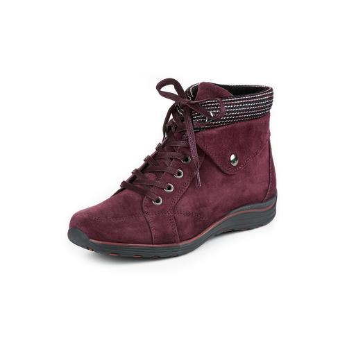 Avena Damen Stiefel Rot einfarbig
