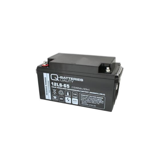 Q-Batteries 12LS-65 12V 65Ah Blei-Vlies-Akku / AGM VRLA mit VdS