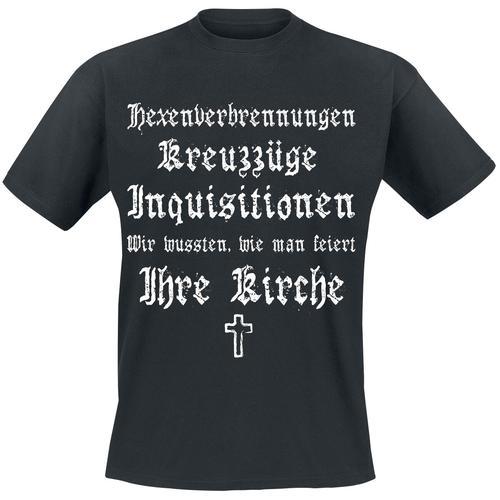 Ihre Kirche Herren-T-Shirt - schwarz