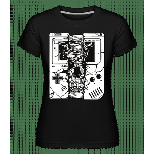 Gameboy Skull - Shirtinator Frauen T-Shirt