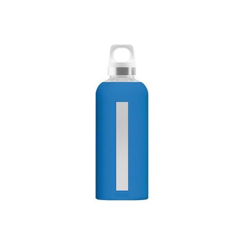 SIGG Glasflasche Star Electric Blue 0,5l, blau