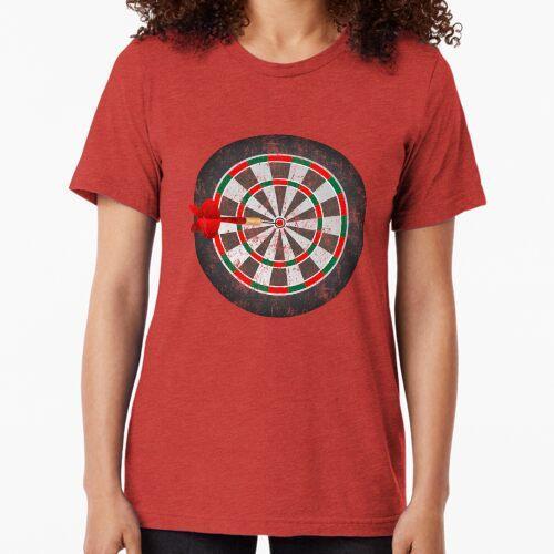 Vintage Darts Dartscheibe Vintage T-Shirt