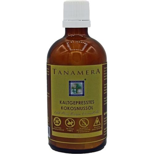 Tanamera Kaltgepresstes Kokosnussöl 100 ml Körperöl