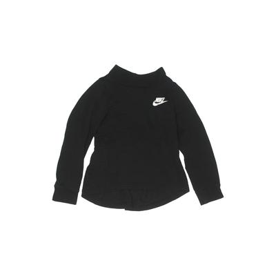 Nike Active T-Shirt: Black Solid...