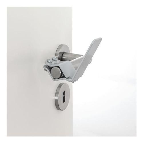 2er-Set Türklinken-Adapter weiß, VICO, 9x4 cm